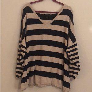 Lane Bryant Striped Sweater
